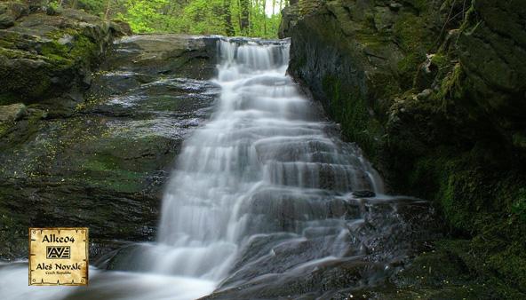 AGT 12: Stribrske vodopady